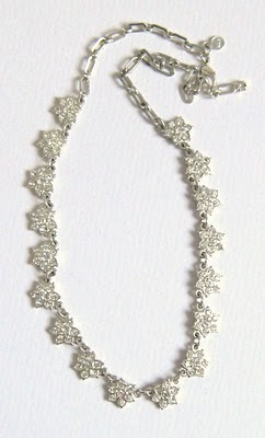 Marks and spencer glass paste rhinestone necklace jewelry