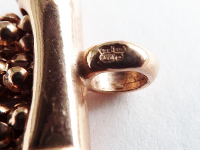 How to read a British hallmark stamp on gold and silver jewellery