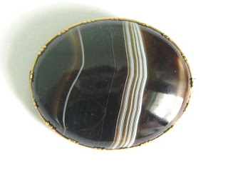 Antique Victorian Scottish agate brooch jewelry