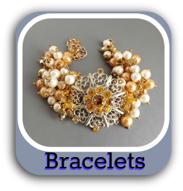 Shop online UK for unique crystal glass bead handmade jewellery bracelets bangles