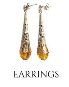Buy clip on and metal free hypoallergenic easy to wear earrings online at nicabrac.com