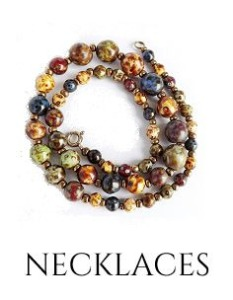 Buy clasp free/ easy to wear necklaces online at nicabrac.com